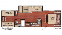 2018 Kingsport 279BH Floor Plan