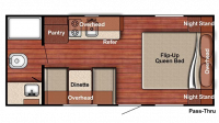 2019 Kingsport 188RB Floor Plan