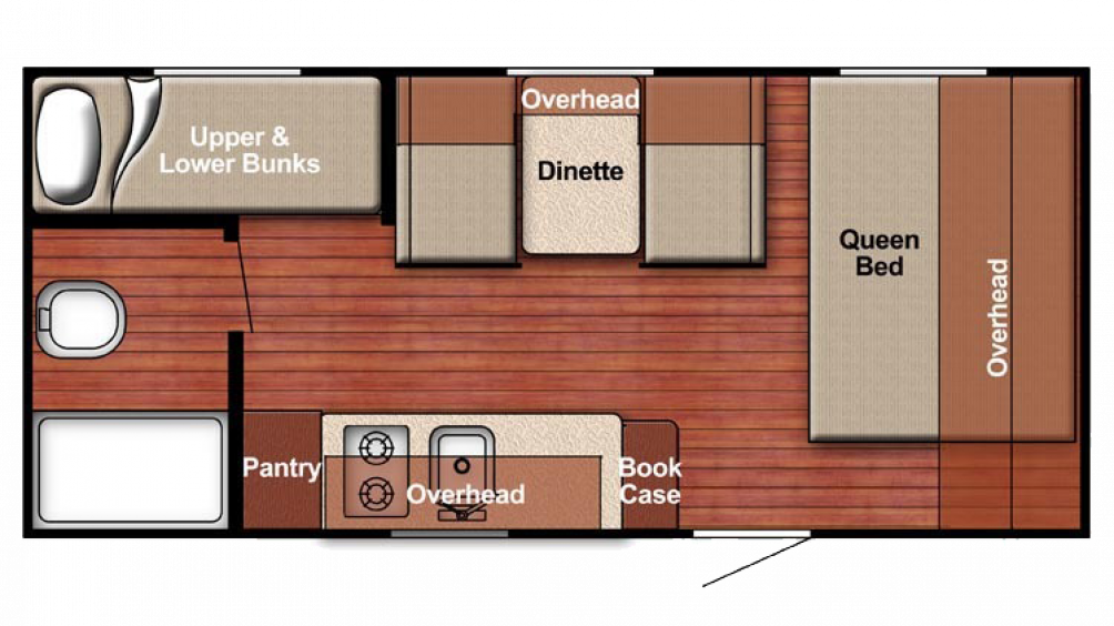 2018 Kingsport 198BH Floor Plan Img