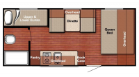 2019 Kingsport 198BH Floor Plan