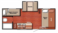 2019 Kingsport 19DS Floor Plan