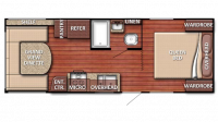 2019 Kingsport 20QBG Floor Plan