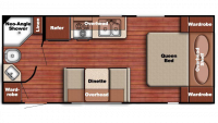 2019 Kingsport 218MB Floor Plan