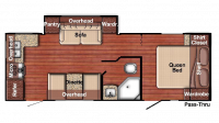 2019 Kingsport 238RK Floor Plan