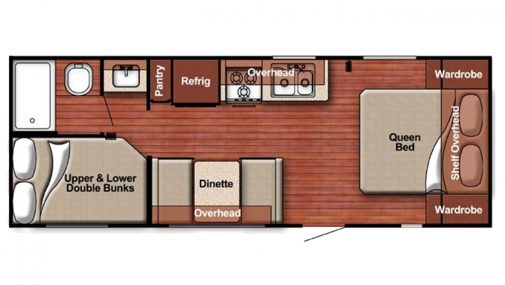 2018 Kingsport 248BH Floor Plan Img