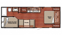2019 Kingsport 248BH Floor Plan