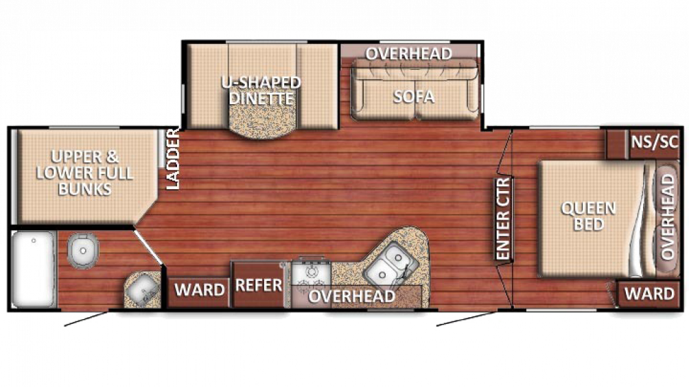 2018 Kingsport 271DDS Floor Plan Img