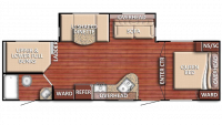 2019 Kingsport 271DDS Floor Plan