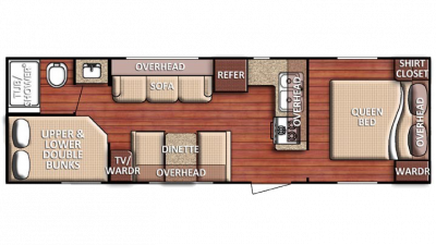 2018 Kingsport 275FBG Floor Plan Img