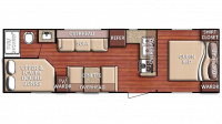 2019 Kingsport 275FBG Floor Plan