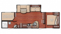 2019 Kingsport 278DDS Floor Plan