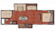 2019 Kingsport 288ISL Floor Plan
