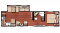 2019 Kingsport 299SBW Floor Plan