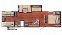 2019 Kingsport 301TB Floor Plan