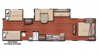 2019 Kingsport 321TBS Floor Plan