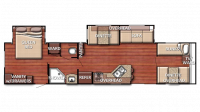 2019 Kingsport 380FRS Floor Plan