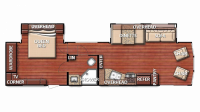 2019 Kingsport 34FLS Floor Plan