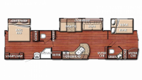 2019 Kingsport 408TBS Floor Plan