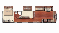 2019 Kingsport 40DEN Floor Plan
