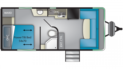 2019 Terry Classic V21 Floor Plan Img