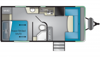 2019 Terry Classic V21 Floor Plan