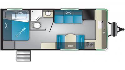 2019 Terry Classic V22 Floor Plan Img