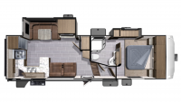 2018 Mesa Ridge Lite MF2804RK Floor Plan
