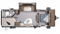 2018 Mesa Ridge Lite MR2504BH Floor Plan