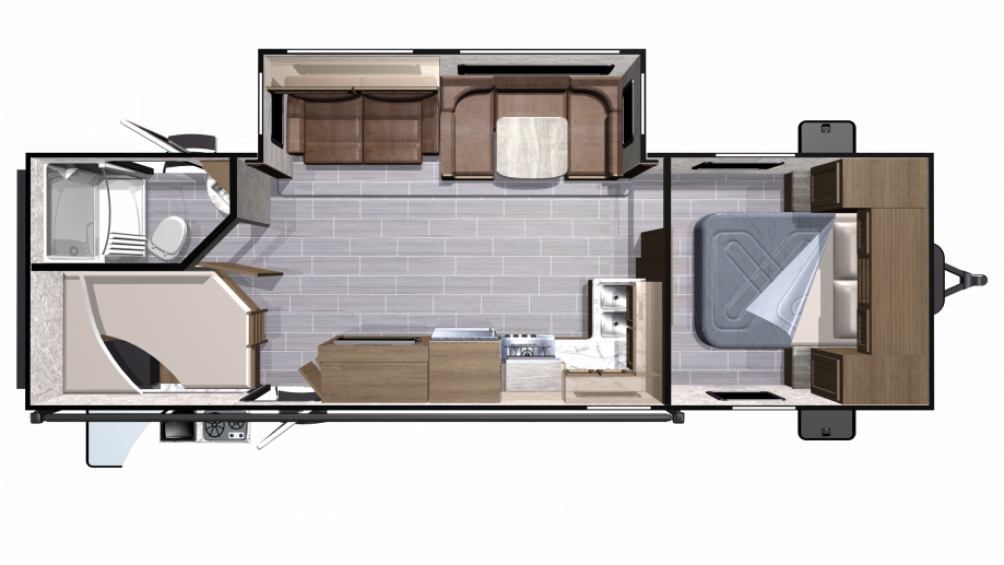 2018 Mesa Ridge Lite MR2802BH Floor Plan Img