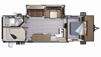 2018 Mesa Ridge Lite MR2802BH Floor Plan