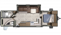 2019 Mesa Ridge Conventional 282BH Floor Plan