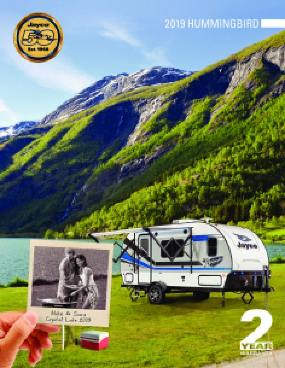 2019 Jayco Hummingbird RV Brochure Cover