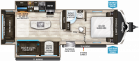 2018 Imagine 2950RL Floor Plan