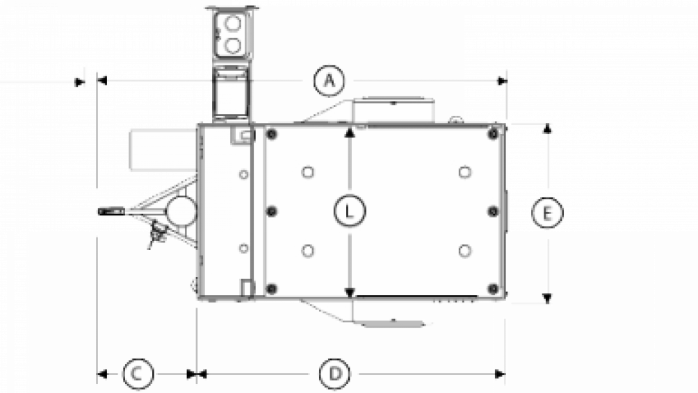 2018 Flyer Explore FE6x10.5 Floor Plan Img