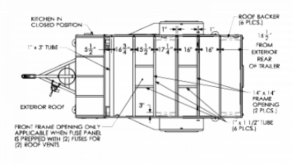 2018 Flyer Pursue FP5x10.5 Floor Plan Img