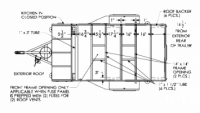 2019 Flyer Pursue FP5x10.5 Floor Plan