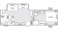 2004 Cougar 290EFS Floor Plan