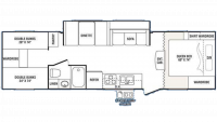 2008 Outback 30 QBHS LE Floor Plan