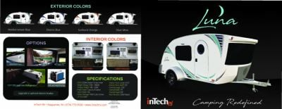 2019 inTech RV Luna RV Brochure Cover