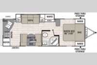 2016 Freedom Express LTZ 246 RKS Floor Plan