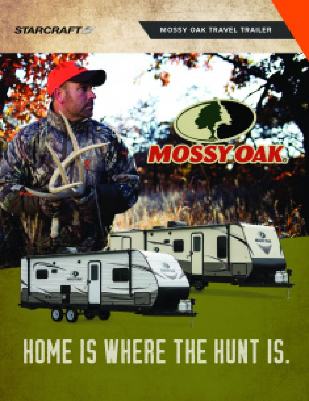 2019 Starcraft Mossy Oak RV Brochure Cover