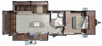 2018 Mesa Ridge MR272RLS Floor Plan