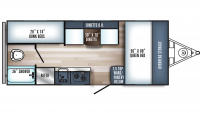 2019 Real-Lite Mini 177 Floor Plan