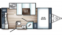 2019 Real-Lite Mini 178 Floor Plan