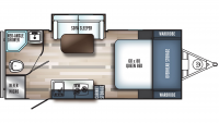 2019 Real-Lite Mini 181 Floor Plan