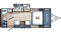 2019 Real-Lite Mini 182 Floor Plan