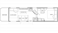 2008 Rage'n Falcon 3005 Floor Plan