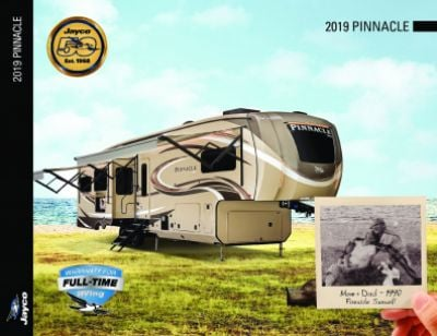 2019 Jayco Pinnacle RV Brochure Cover