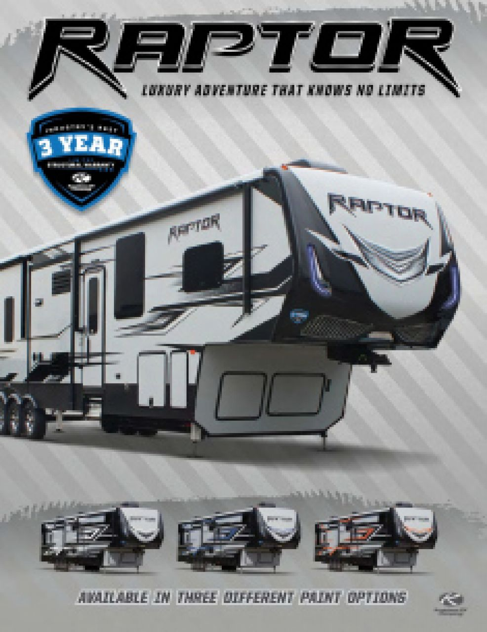 2019 Keystone Raptor RV Brochure Cover