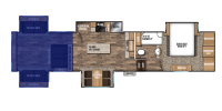 Rear Entertainment Floor Plan